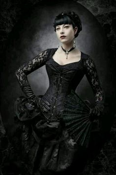 Gothic goth model