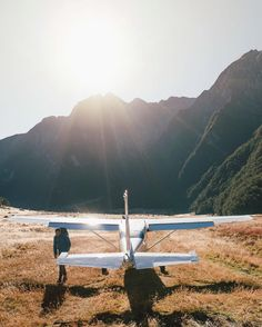 Single engine commutes deep into the Siberia Valley a place id never been before. As we stood there and watched the plane depart with our packs on our back it was then we knew this was the start of another great adventure  @lakewanakanz #lovewanaka by jasoncharleshill