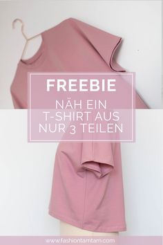 Sew a simple T-shirt - sewing patterns for free - Nähen - free sewing pattern simple t-shirt, freebie, free pattern, sewing t-shirt, sewing instructions t-shi - T Shirt Sewing Pattern, Easy Sewing Patterns, Crochet Patterns, Shirt Patterns, Sewing Dress, Sewing Clothes, Sewing Shirts, Poncho Crochet, Diy Mode