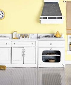 Deep cleaning in 3 easy steps: microwave, coffeemaker, refridgerator, stovetop and hood, and oven.