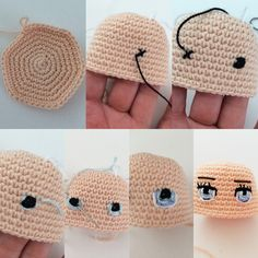 A free Amigurumi Dog pattern that shows you how to use Brush Crochet to create the most adorable fluffy doll with a realistic furry look. Best crochet dolls omg i m completely in love with these dolls so cute salvabrani amigurumi crochet knitting amigurum Crochet Doily Rug, Crochet Eyes, Crochet Gifts, Crochet Baby, Crochet Dolls Free Patterns, Crochet Doll Pattern, Amigurumi Patterns, Doll Patterns, Knitted Dolls