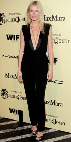 Gwyneth Paltrow - tuxedo jumpsuit