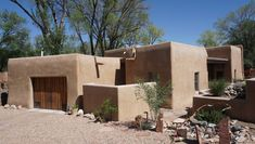 A classic Santa Fe property designed by a local architect. Tagged: Exterior and House.  Photo 3 of 10 in Top 10 Cities to Witness Stunning Architecture Across America
