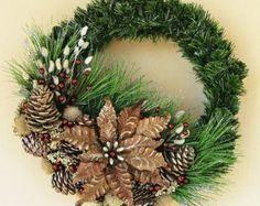 Guirnalda de botín de invierno pino por Ghirlande en Etsy