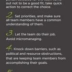 [Infographic] 7 steps towards developing a remarkable team #startup #entrepreneurship