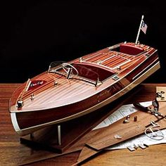 Chris Craft 1949 Racing Runabout   1/8 Scale Model Kit  (I want the real thing but this would do!)