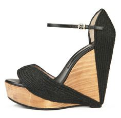 cork wedges..so sexy!