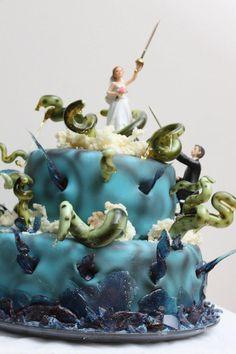 Epic wedding cake