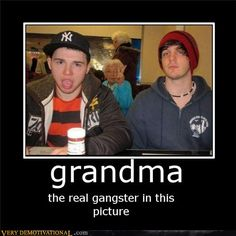 Best. Photobomb. Ever !!!! #Grannywins