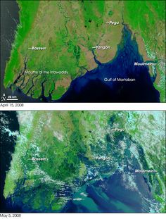 Cyclone Nargis     Date: May 2008 Location: Myanmar (Burma), Bay of Bengal Fatalities: 140,000 Total losses: $4 billion USD
