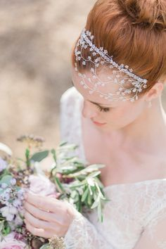Hermione Harbutt: Nature Inspired Hair Vines and Delicate Bridal Headpieces   Love My Dress® UK Wedding Blog
