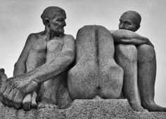 Oslo, by Gustav Vigeland I visited this park of sculptures.  Wonderful