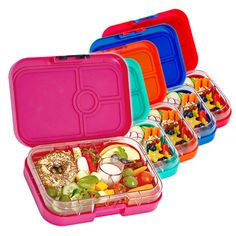 yumbox panino bento lunchbox 4 compartments pomme green available in nz from www. Black Bedroom Furniture Sets. Home Design Ideas