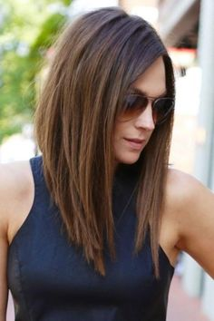 Image result for long layered bob