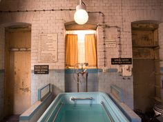 """The Grand Budapest Hotel""  The hotel's pool and spa is actually an early-1900s bathhouse, discovered in Görlitz during production."