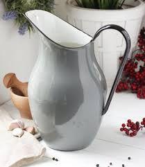 Resultado de imagen para jarras de leche enlozadas