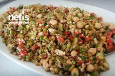 Yoğurtlu Buğday Salatası (Harika) Tarifi nasıl yapılır? 1.296 kişinin defterindeki bu tarifin resimli anlatımı ve deneyenlerin fotoğrafları burada. Yazar: Ayten Yiğit