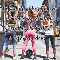A siker akkor jön el, amikor az álmaid felülkerekednek a kifogásaidon! Trendy Dresses, Summer Dresses, Happiness, Training, Motivation, Happy, Sports, People, Coaching