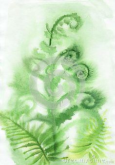 Misty Fern background