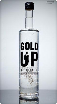 Gold Up Vodka PD