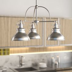 Cetona 3-Light Kitchen Island Pendant #birchlane