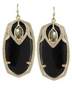 Great 20's style earrings.    Kendra Scott Darby Earrings in Sambuca $75