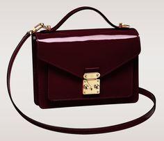 Louis Vuitton Monceau BB Bag Amarante Vernis