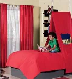 New Bunk Bed Tent Canopy For Boys And S 4 Models To Choose From Ebay