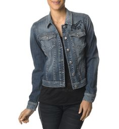 I just entered to win my wishlist, and you should too! Click now to enter!  Denim Jacket