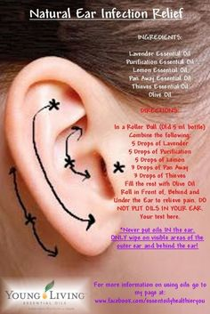 Natural Ear Infection Relief with Young Living Essential Oils by annabelle
