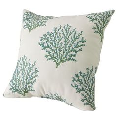 Kohl's coral reef pillow- lovely!