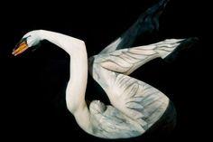 Spiritually Symbolic Body Paint - Swarte Explores Tribe Survival Through Tribal Body Paint Art (GALLERY)