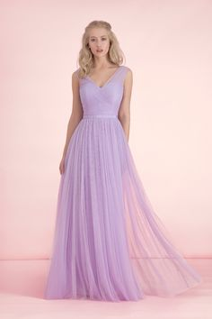 2016 New Arrival Ruffles V Neck A Line Simple Long Bridesmaid Dresses Maid Of Honor Gown for Wedding Levander Light Purple Tulle     Tag a friend who would love this!     FREE Shipping Worldwide     Get it here ---> http://onlineshopping.fashiongarments.biz/products/2016-new-arrival-ruffles-v-neck-a-line-simple-long-bridesmaid-dresses-maid-of-honor-gown-for-wedding-levander-light-purple-tulle/