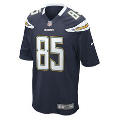 Nike NFL Los Angeles Chargers (Antonio Gates) Men s Football Home Game Jersey  Size Medium e035bd214