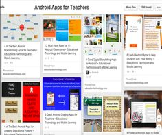Educational Android Apps for Teachers ~ Educational Technology and Mobile Learning Educational Websites, Educational Technology, Brainstorming App, Apps For Teaching, Teaching Ideas, High School Chemistry, Math Word Problems, Digital Storytelling, Mobile Learning