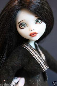 "OOAK Custom Monster High Lagoona Doll Repaint Outfit ""Adelle"" Artist Sashableu | eBay"