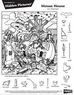 Hidden Words In Pictures, Hidden Picture Puzzles, Gross Motor Activities, Color Activities, Halloween Riddles, Hidden Pictures Printables, Kids Table Wedding, Grammar For Kids, Kids Wedding Activities