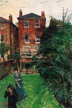 """The Artist's Garden"" by Carel Weight"