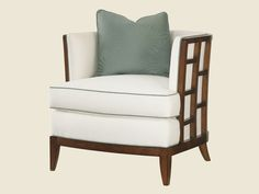 Lexington Home Brands Abaco Chair  Item: 1506-11  Dimensions: 32½W x 33D x 36H in. Inside Width: 23½ in. Inside Depth: 20 in. Arm Height: 31½ in. Seat Height: 20 ...