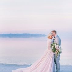 blush-hayley-paige-modest-wedding-dress