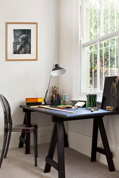 simple and chic workspace