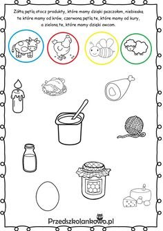 Grade R Worksheets, Fruit Coloring Pages, Science, 4 Kids, Farm Animals, Diy And Crafts, Homeschool, Activities, Cards