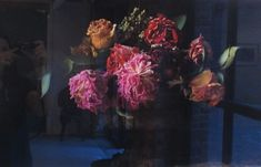 John Ross of PatchNYC still life photos of flowers based on Dutch paintings