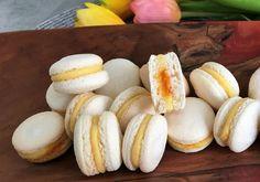 Pavlova, Macaroons, Peach, Bread, Cookies, Fruit, Food, Basket, Macaroni