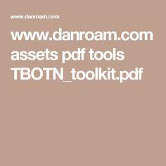 www.danroam.com assets pdf tools TBOTN_toolkit.pdf