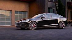 Tesla Model S Tesla Motors Side View