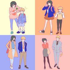 Roise x daniel - age matters 💛✨ Age, Cute Profile Pictures, Bae Goals, Webtoon Comics, Nanami, Manhwa Manga, Story Time, Anime Couples, Character Art