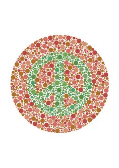 Blind Hope 2015 Misanthropy Part III: Examination of parallels and relations between genetic visual interpretation with collective social, political & cultural conditioning. Part III: The Ishihara Colour Vision Test