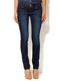 89cc9e56b Shop Curve Creator Skinny Jean - Dark Tide Wash - Average. Find your  perfect size
