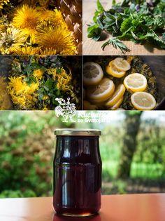 Do hrnce dáme 300 g plně rozvitých pampeliškových květů a 50 g vonných bylin: máty, meduňky a levandule. Zalijeme je 1200 ml vody, přivedeme...